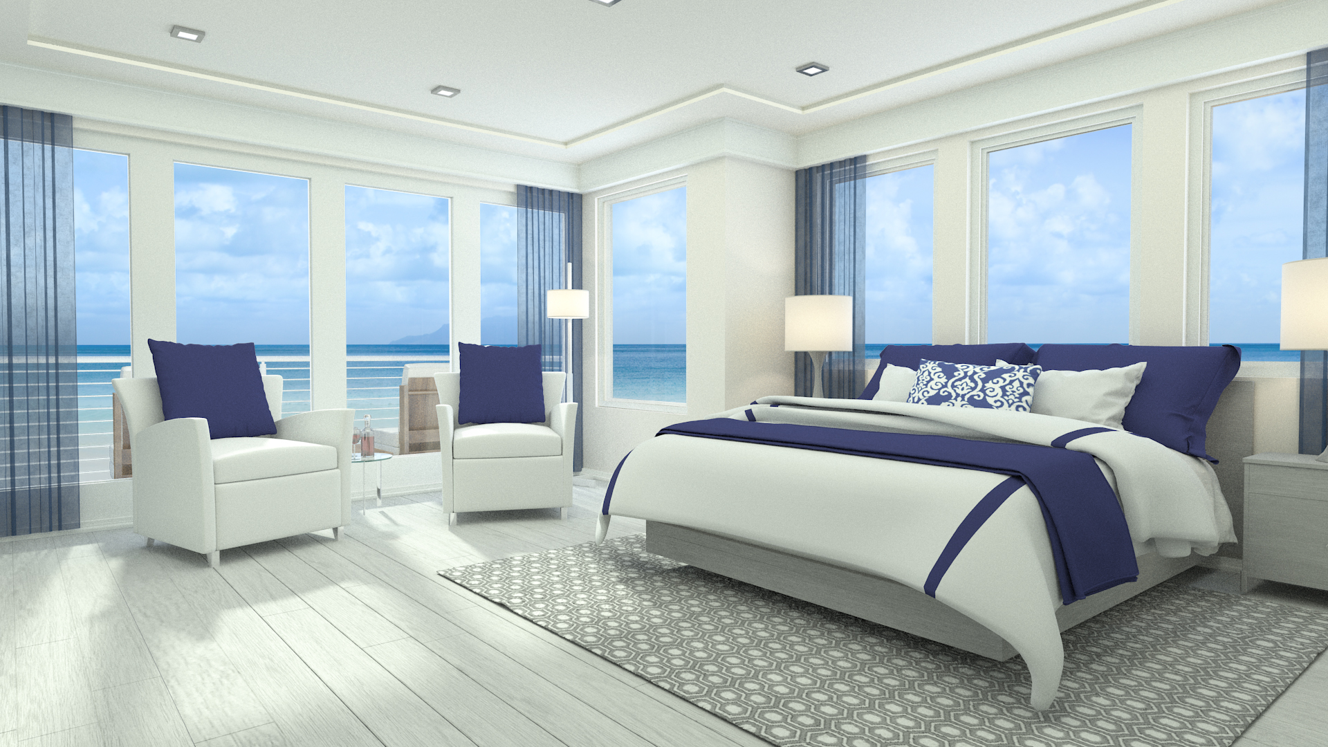 Renders 3d For Master Bedroom Project: OldOcean_Third_Floor_Master_Bedroom.v3