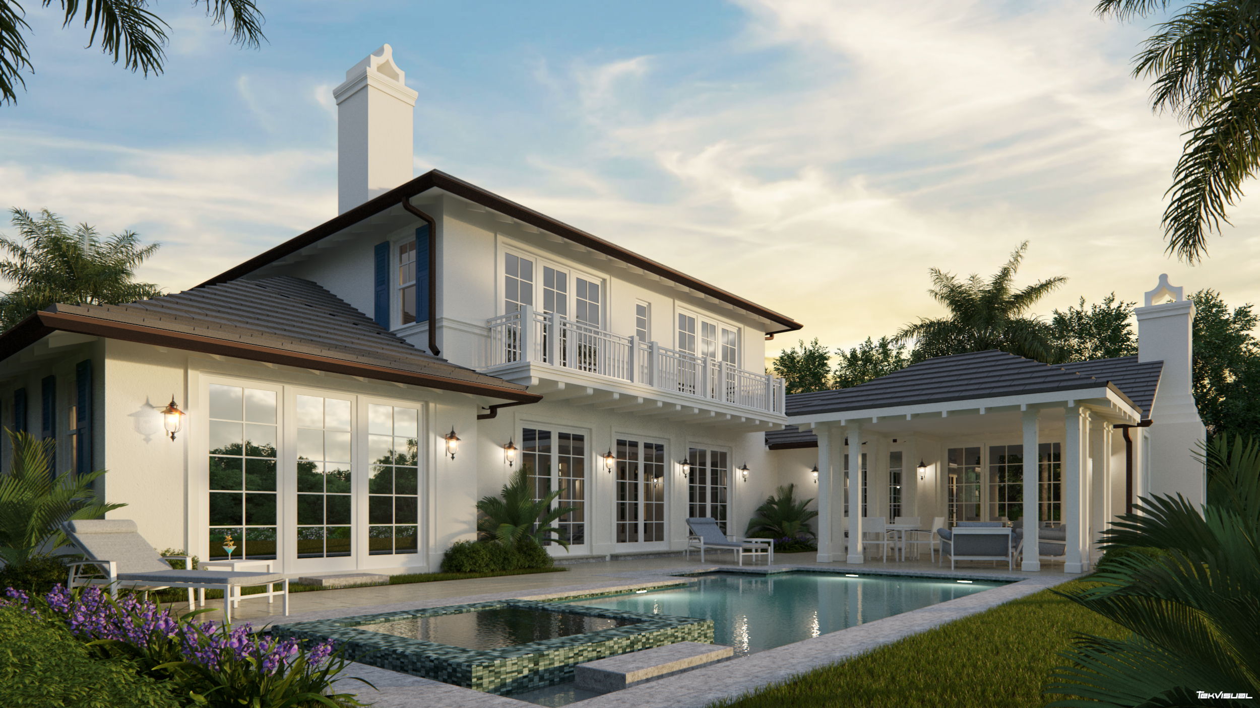 tekvisual 3d architectural rendering